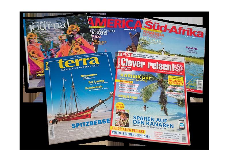 Veröffentlichungen in Magazinen